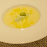 トウモロコシの冷たいスープ